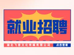 【就业招聘】湖北飞音文化传媒有限公司・武汉新华就业招聘信息