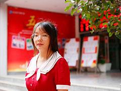 【新生故事】李婷婷:放弃普高转学来亚博网导航,梦想创业经营一家网店!